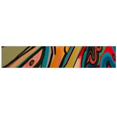 Vivid Colours Large Flano Scarf  by Sapixe
