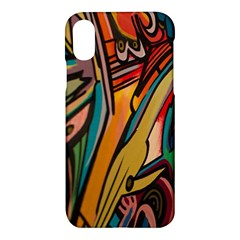 Vivid Colours Apple Iphone X Hardshell Case