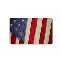 Usa Flag Magnet (name Card) by Sapixe