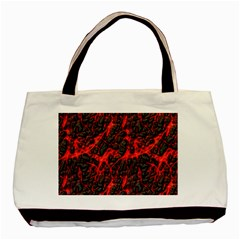 Volcanic Textures Basic Tote Bag (two Sides) by Sapixe