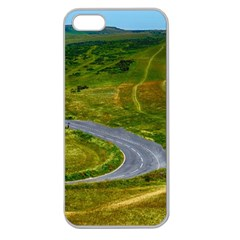 Cliff Coast Road Landscape Travel Apple Seamless Iphone 5 Case (clear)