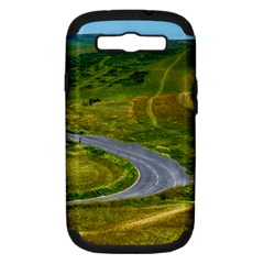 Cliff Coast Road Landscape Travel Samsung Galaxy S Iii Hardshell Case (pc+silicone)