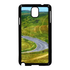 Cliff Coast Road Landscape Travel Samsung Galaxy Note 3 Neo Hardshell Case (black)