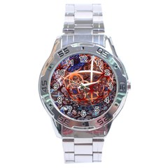 Complexity Chaos Structure Stainless Steel Analogue Watch