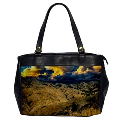 Hills Countryside Landscape Nature Office Handbags