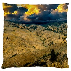 Hills Countryside Landscape Nature Large Cushion Case (one Side)
