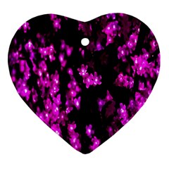 Abstract Background Purple Bright Ornament (heart) by Sapixe