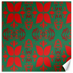 Christmas Background Canvas 16  X 16   by Sapixe
