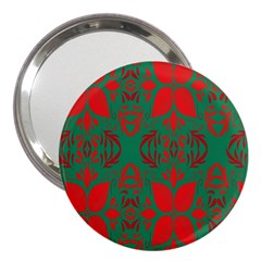 Christmas Background 3  Handbag Mirrors by Sapixe