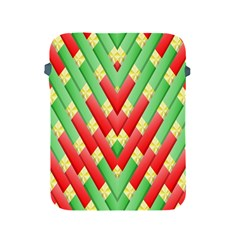Christmas Geometric 3d Design Apple Ipad 2/3/4 Protective Soft Cases