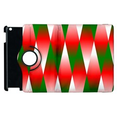 Christmas Geometric Background Apple Ipad 2 Flip 360 Case by Sapixe