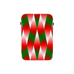 Christmas Geometric Background Apple Ipad Mini Protective Soft Cases by Sapixe