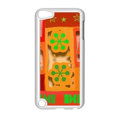 Christmas Design Seamless Pattern Apple Ipod Touch 5 Case (white)