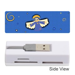 Christmas Holidays Seamless Pattern Memory Card Reader (stick)