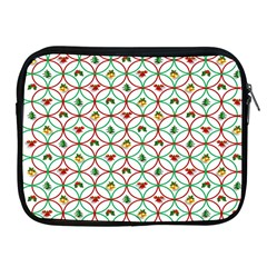 Christmas Decorations Background Apple Ipad 2/3/4 Zipper Cases