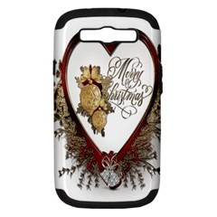 Christmas Décor Decoration Winter Samsung Galaxy S Iii Hardshell Case (pc+silicone)