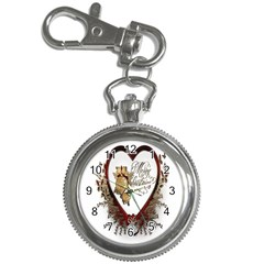 Christmas Décor Decoration Winter Key Chain Watches by Sapixe