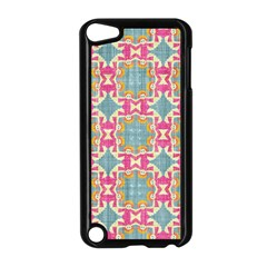 Christmas Holidays Seamless Pattern Apple Ipod Touch 5 Case (black) by Sapixe