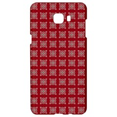 Christmas Paper Wrapping Paper Samsung C9 Pro Hardshell Case