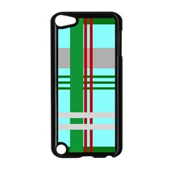 Christmas Plaid Backgrounds Plaid Apple Ipod Touch 5 Case (black) by Sapixe