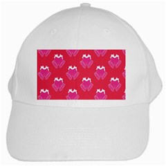 Christmas Red Pattern Reasons White Cap