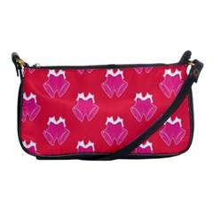 Christmas Red Pattern Reasons Shoulder Clutch Bags by Sapixe