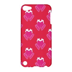 Christmas Red Pattern Reasons Apple Ipod Touch 5 Hardshell Case by Sapixe