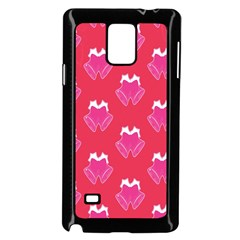 Christmas Red Pattern Reasons Samsung Galaxy Note 4 Case (black) by Sapixe