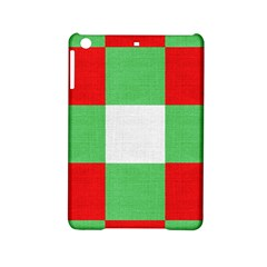 Fabric Christmas Colors Bright Ipad Mini 2 Hardshell Cases by Sapixe