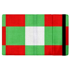 Fabric Christmas Colors Bright Apple Ipad Pro 9 7   Flip Case by Sapixe