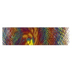 Fire New Year S Eve Spark Sparkler Satin Scarf (oblong)