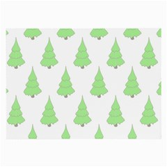 Background Christmas Christmas Tree Large Glasses Cloth by Sapixe
