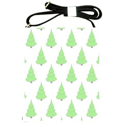 Background Christmas Christmas Tree Shoulder Sling Bags by Sapixe