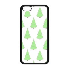 Background Christmas Christmas Tree Apple Iphone 5c Seamless Case (black) by Sapixe