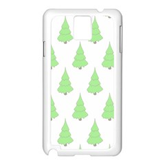 Background Christmas Christmas Tree Samsung Galaxy Note 3 N9005 Case (white)