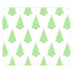 Background Christmas Christmas Tree Double Sided Flano Blanket (small)  by Sapixe