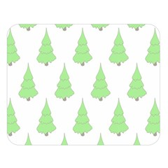 Background Christmas Christmas Tree Double Sided Flano Blanket (large)  by Sapixe