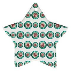 Christmas 3d Decoration Colorful Star Ornament (two Sides) by Sapixe