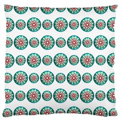 Christmas 3d Decoration Colorful Large Cushion Case (two Sides) by Sapixe