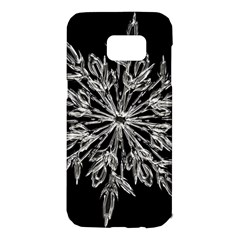 Ice Crystal Ice Form Frost Fabric Samsung Galaxy S7 Edge Hardshell Case