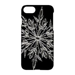 Ice Crystal Ice Form Frost Fabric Apple Iphone 8 Hardshell Case
