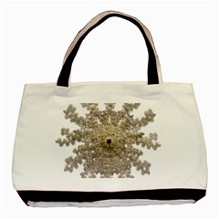 Gold Golden Gems Gemstones Ruby Basic Tote Bag by Sapixe