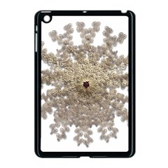 Gold Golden Gems Gemstones Ruby Apple Ipad Mini Case (black)