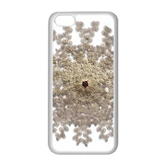 Gold Golden Gems Gemstones Ruby Apple Iphone 5c Seamless Case (white) by Sapixe