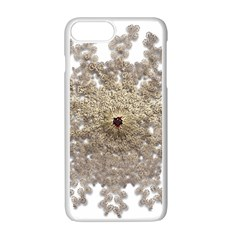 Gold Golden Gems Gemstones Ruby Apple Iphone 7 Plus Seamless Case (white)