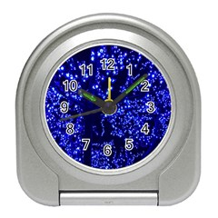 Lights Blue Tree Night Glow Travel Alarm Clocks