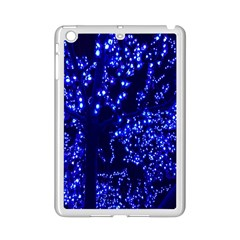 Lights Blue Tree Night Glow Ipad Mini 2 Enamel Coated Cases by Sapixe
