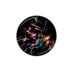 Lights Star Sky Graphic Night Hat Clip Ball Marker (4 Pack)