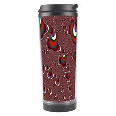 Mandelbrot Fractal Mathematics Art Travel Tumbler by Sapixe
