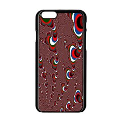 Mandelbrot Fractal Mathematics Art Apple Iphone 6/6s Black Enamel Case by Sapixe